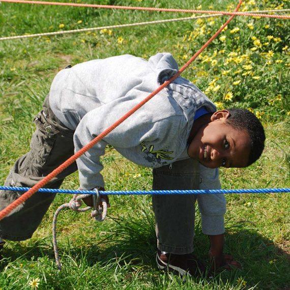 Rope-maze